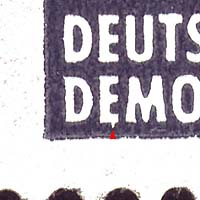 DDR Plattenfehler Walter Ulbricht 845